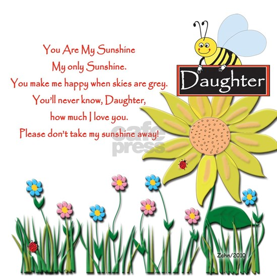 You Are My Sunshine Daughter