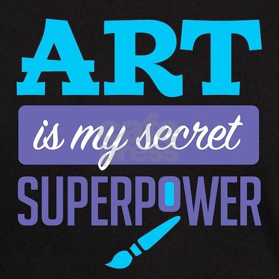 Art is My Secret Superpower