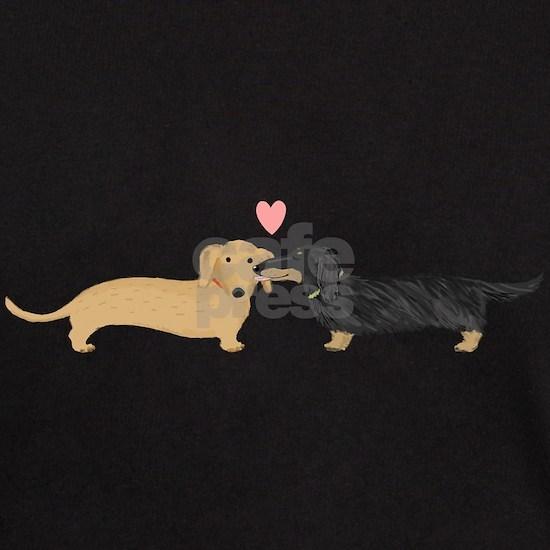 dachshund kiss