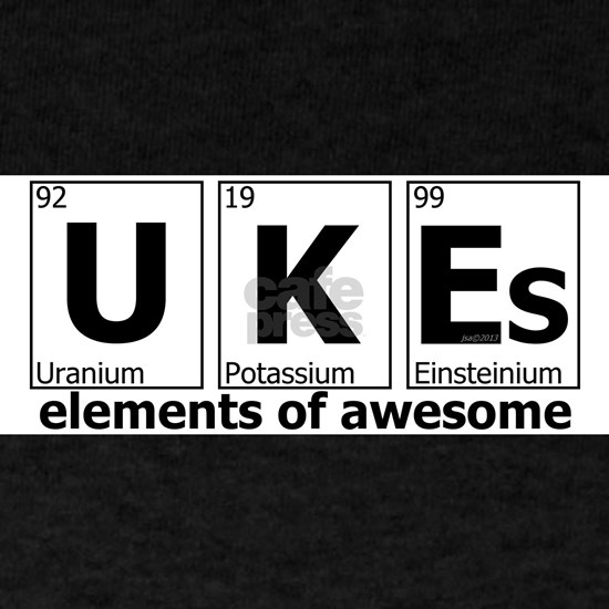 ukes elements of awesome white