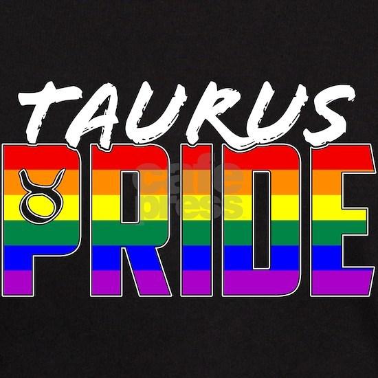LGBT Taurus Pride Flag Zodiac Sign