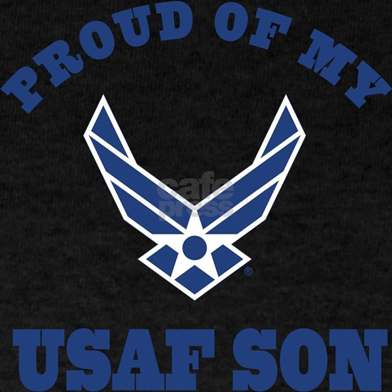 Air Force Son Proud Mom Dad