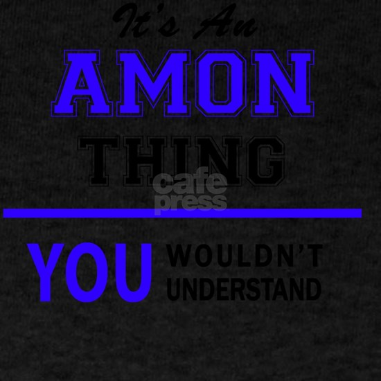 It's AMON thing, you wouldn't understand