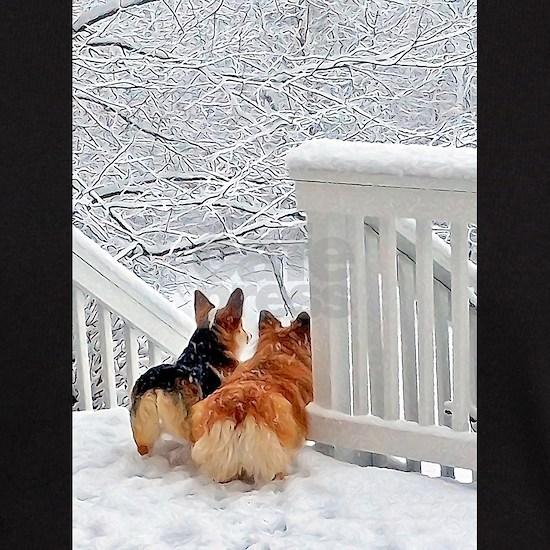 Corgis in Winter