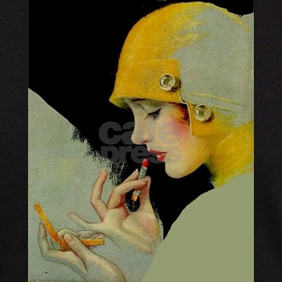 Art Deco Roaring 20s Flapper With Lipstick