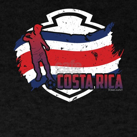 Football Worldcup Costa Rica Costa Rican Soccer Te