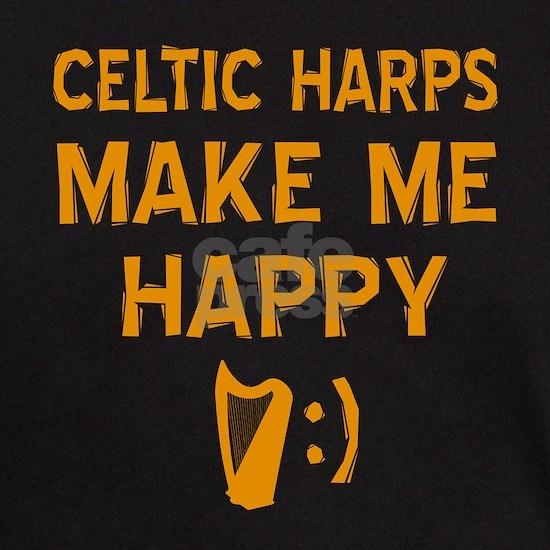 My Celtic Harp makes me happy