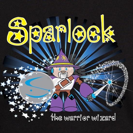 Sparlock The Warrior Wizard