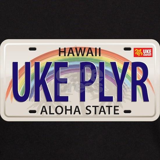 US Uke License Plate