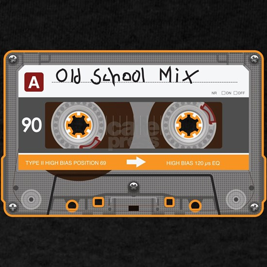 Old School Mix Cassette Tape
