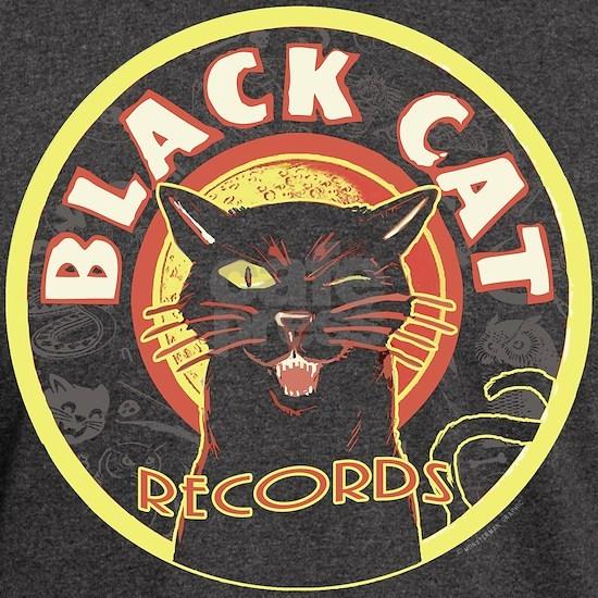 Black Cat Record LP art