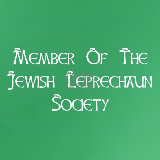Member Of The Jewish Leprechaun Society BW