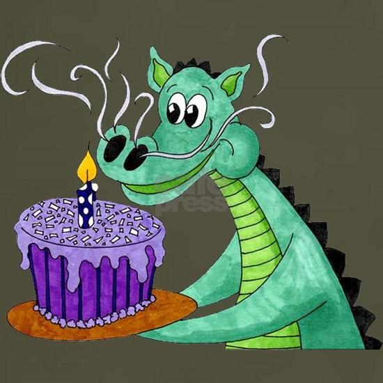 dragon birthday trans