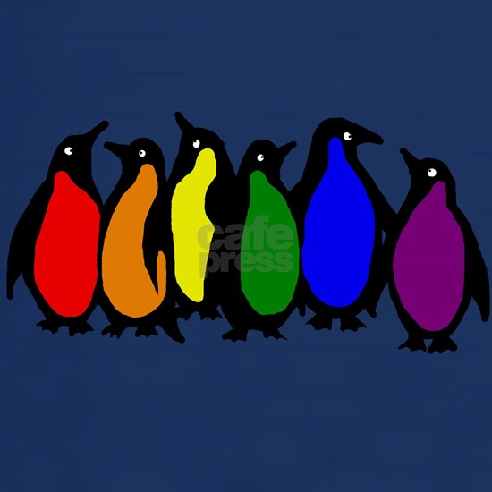 rainbow penguins