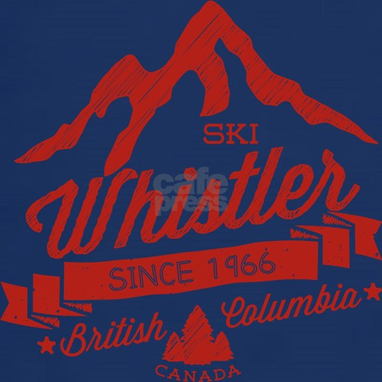 Whistler Mountain Vintage Red