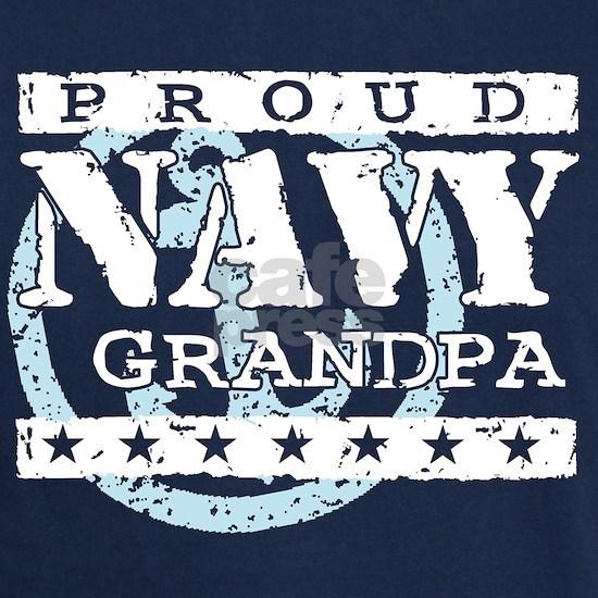 Proud Navy Grandpa