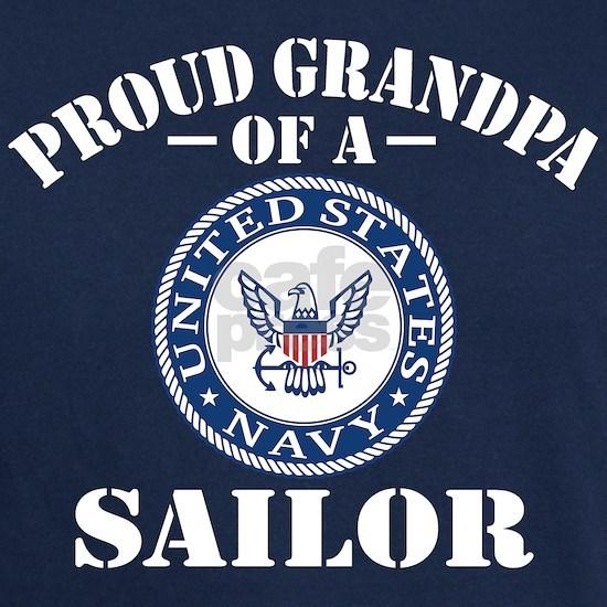Proud Grandpa Of A US Navy Sailor