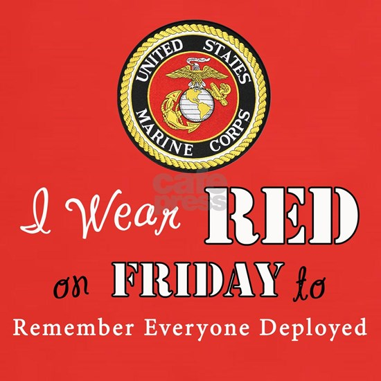 I Wear Red on Friday
