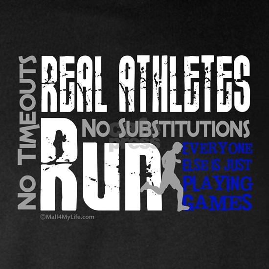 Real Athletes Run - Male