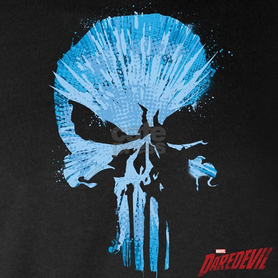 Punisher Skull Blue