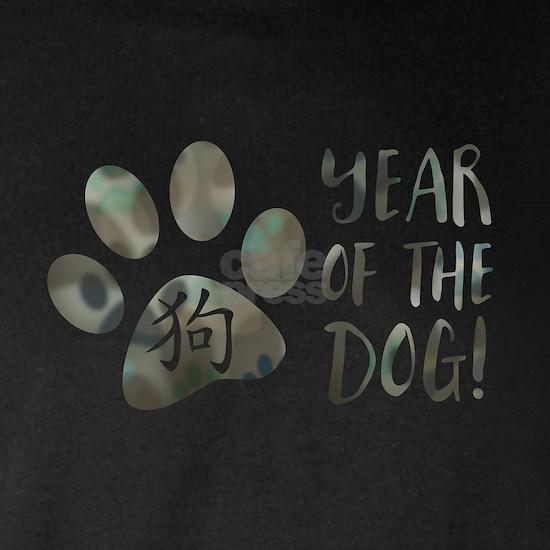 year of the dog bokeh