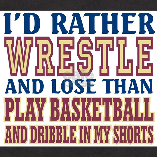 Wrestling Dribble In My Shorts