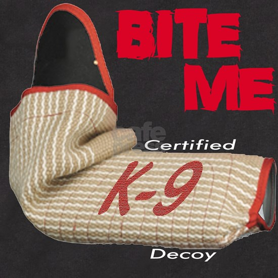 BITE ME - Certified K9 Decoy (dark)