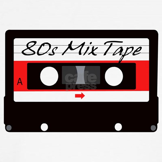 80s Music Mix Tape Cassette