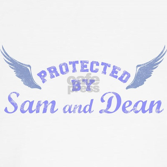 SPN protected by Sam and Dean blue