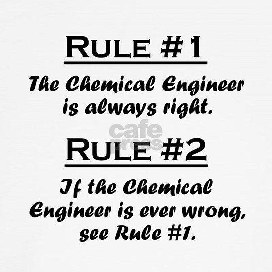 Rule Chemical Engineer
