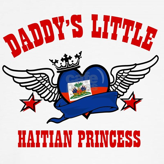 Daddy's little Haitian Princess