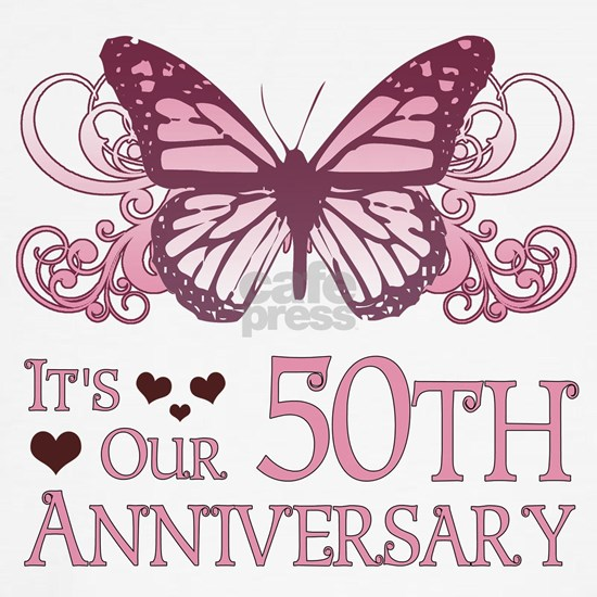 50th Wedding Aniversary (Butterfly)