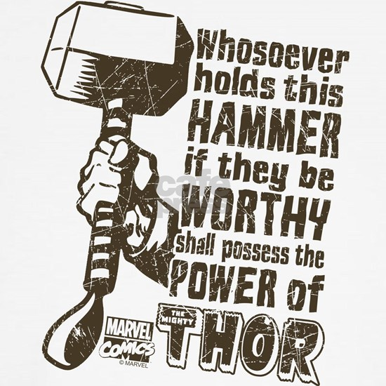 Marvel Comics Retro Thor's Hammer