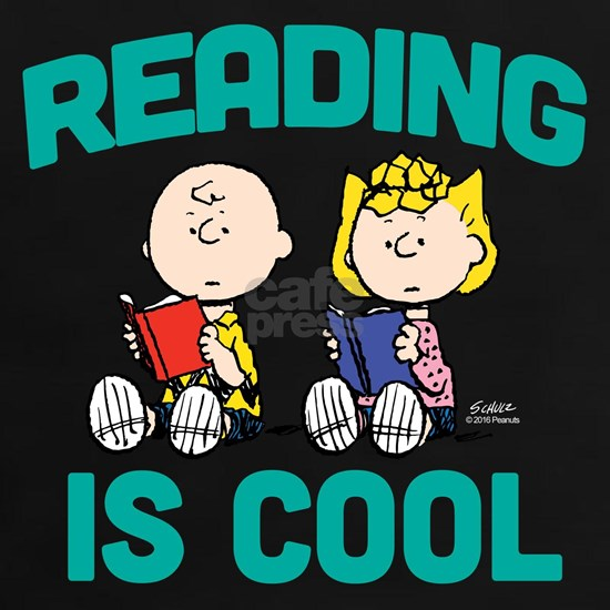 Charlie & Sally Brown-Reading is Cool-Dark