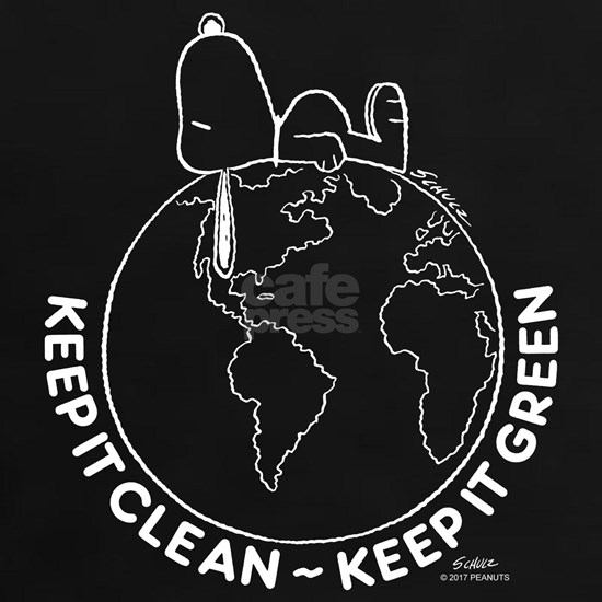 Snoopy Keep It Clean