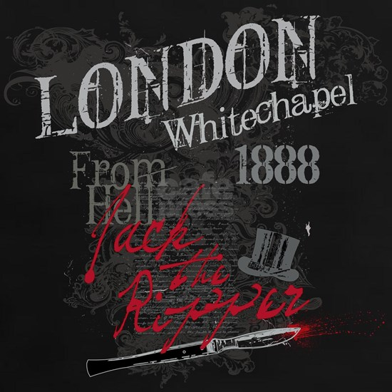 Jack the Ripper 1888 black