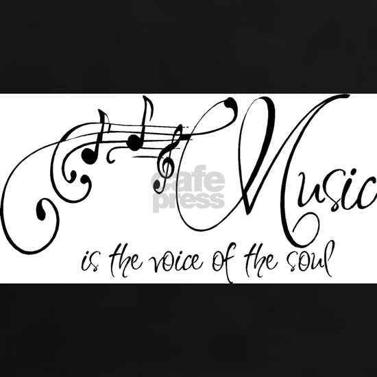 Music is the voice of the soul