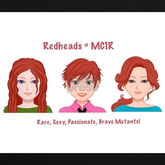MC1R Redhead mutant gene products