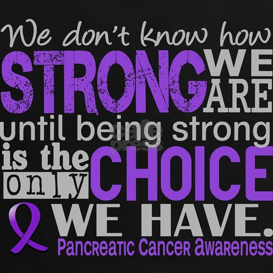 -Pancreatic Cancer How Strong We Are