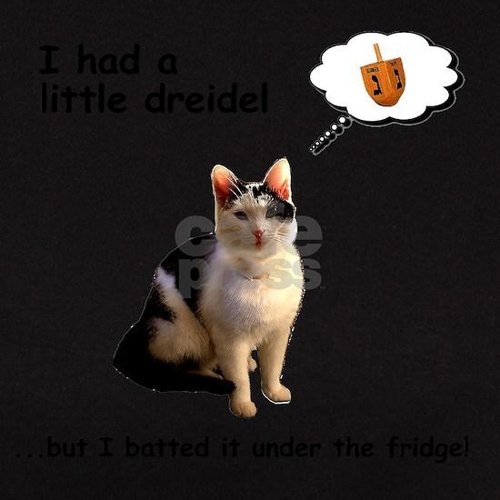 Hanukkah Dreidel Cat