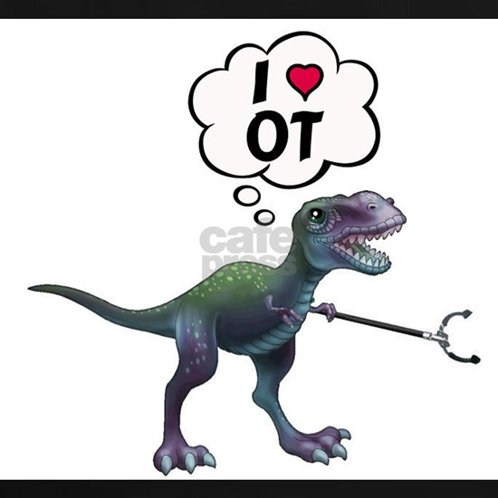 T-Rex Loves Occupational Therapy