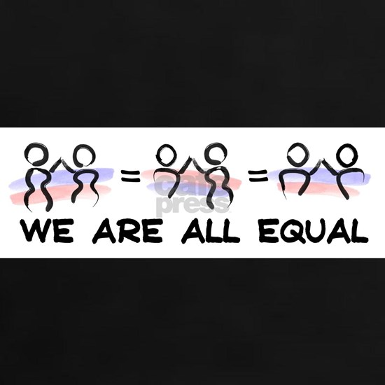 We Are All Equal Pair Logo