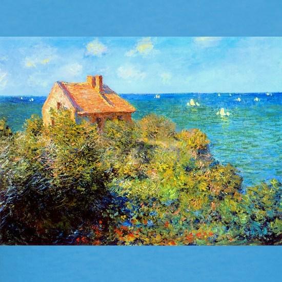 Claude Monet Fisherman Cottage