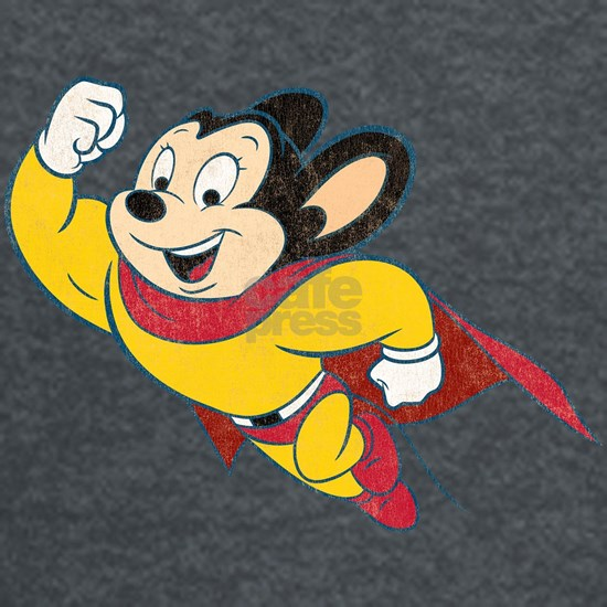 Grunge Mighty Mouse