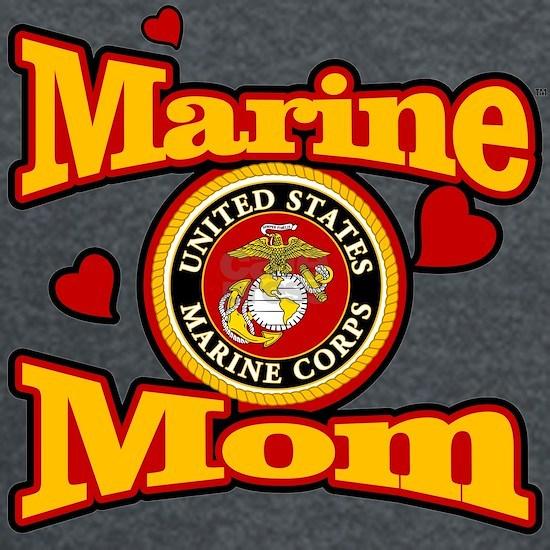 Marine Mom (USMC Seal)