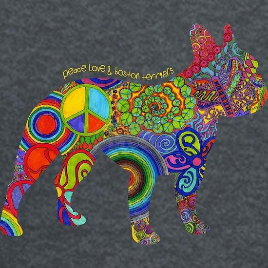 Peace Love & Boston Terriers