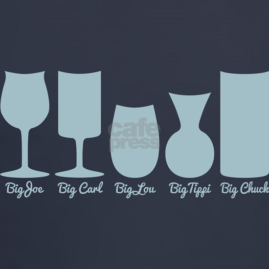 Cougar Town Wine Glass Names