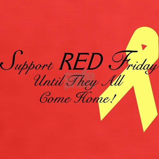 Support Red Friday (Until They All Come Home)