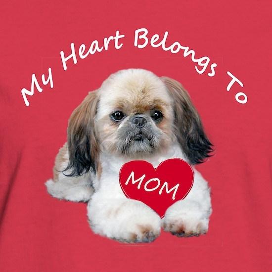 SHIH TZU LOVES MOM