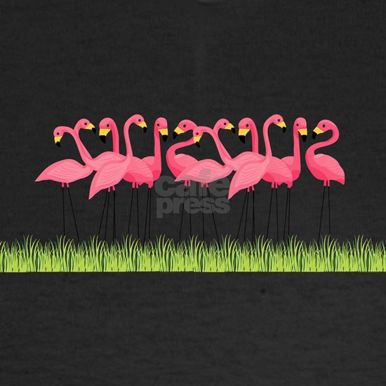 Cuban Pink Flamingos